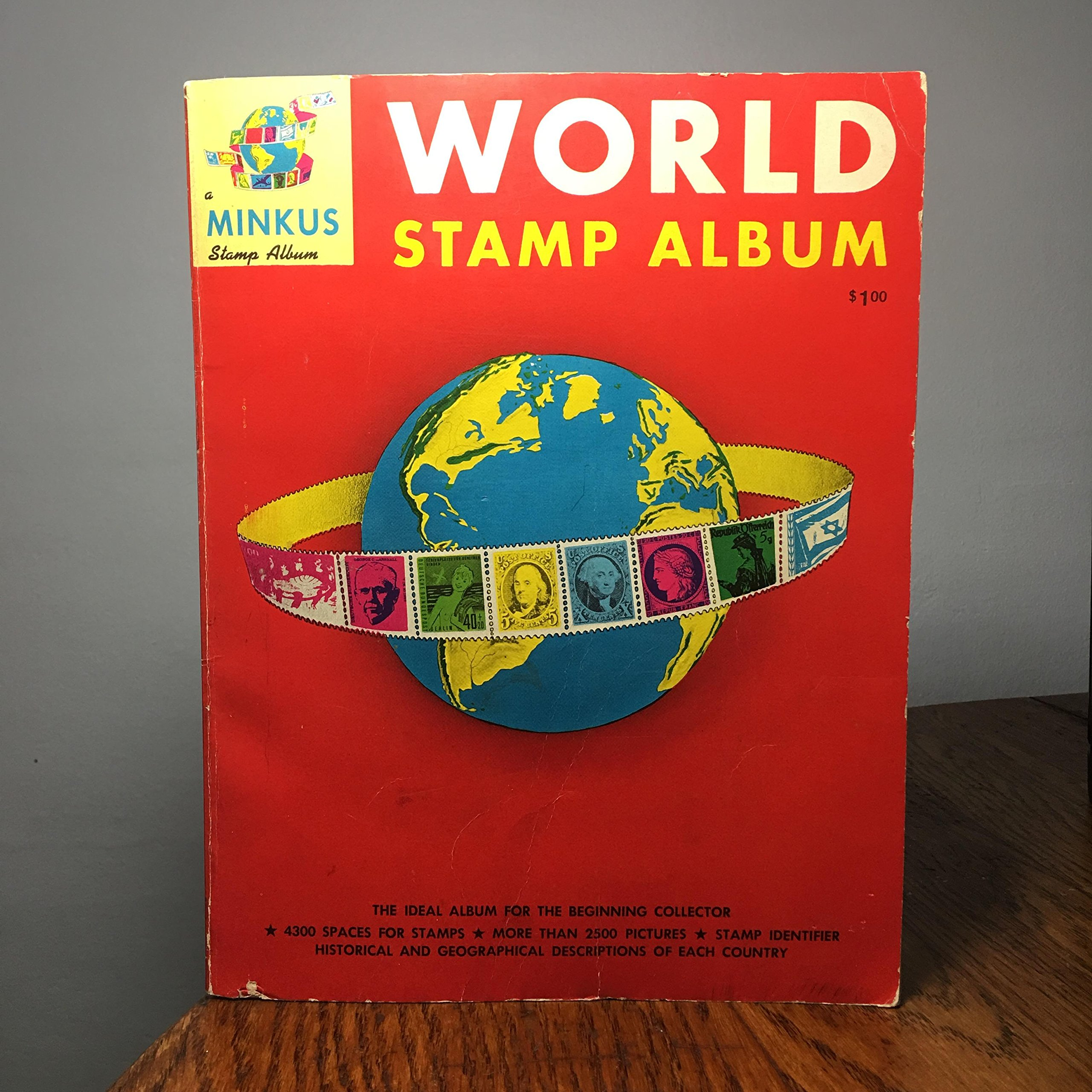 World Stamp Album: The Ideal Book for the Beginning