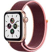 $309 » New Apple Watch SE (GPS + Cellular, 40mm) - Gold Aluminum Case with Plum Sport Loop