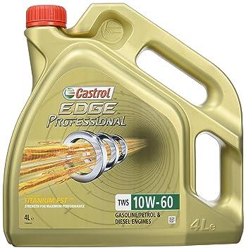 Castrol Edge Titanio Profesional TWS 10 W-60 cas-2282 - 7009 Aceite ...