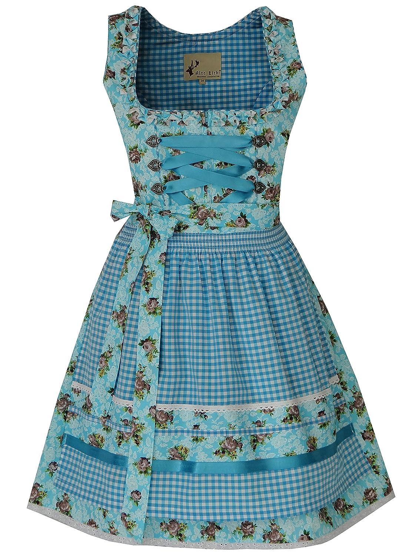 Alte Liebe Trachtenkleid 3tlg. Dirndl Kleid 34, 36, 38, 40, 42, 44, 46 A319