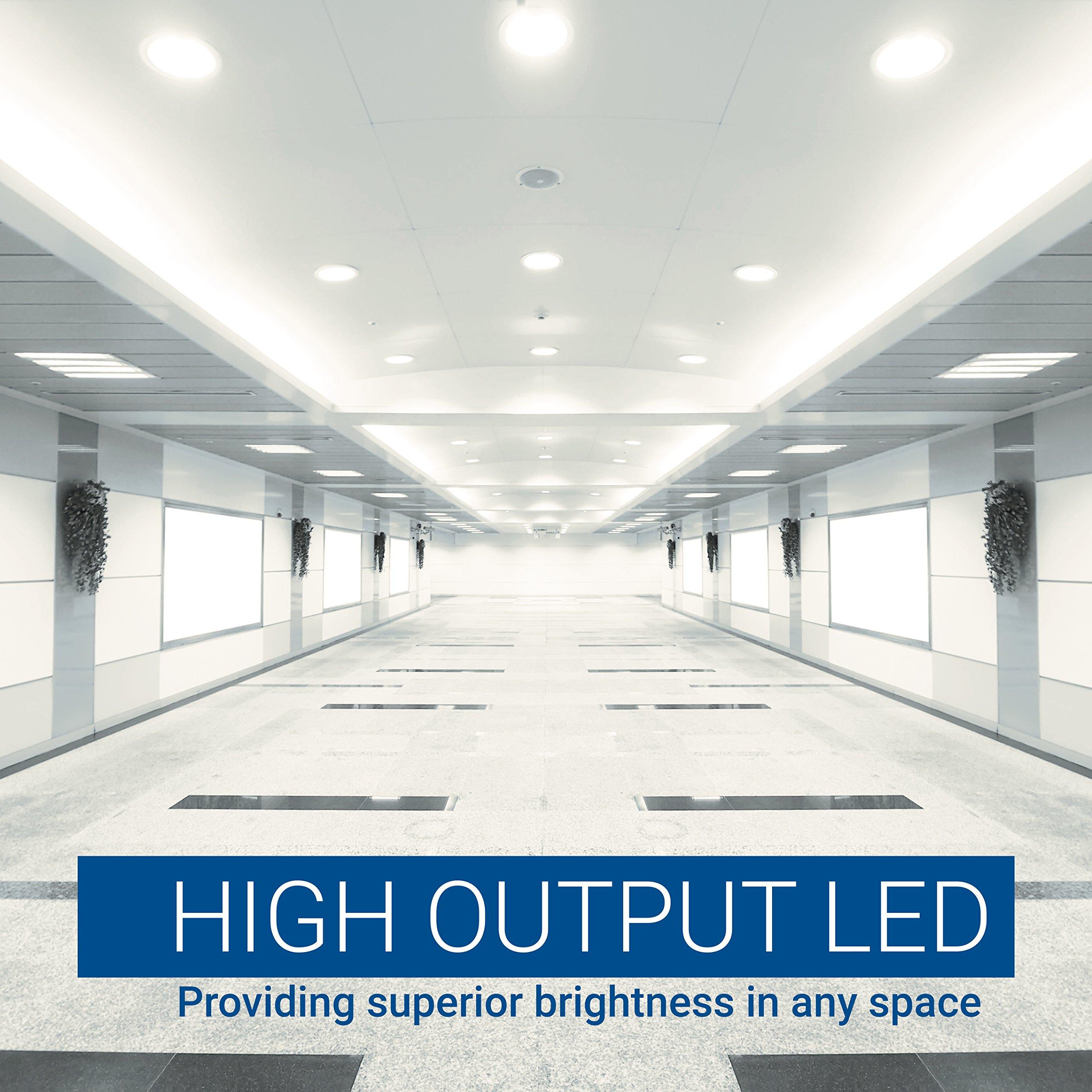 Hyperikon T8 8 Foot LED Bulb, 75 Watt (36W), T10 T12 Light Tube, 4000K Daylight, Dual End Ballast Bypass, Frosted, 4 Pack by Hyperikon (Image #5)