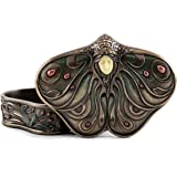 Top Collection Art Nouveau Princess Jewelry Box- Butterfly Trinket Container in Premium Cold Cast Bronze-2-Inch Collectible K
