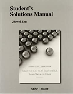 Amazon statistics for business decision making and analysis students solutions manual for statistics for business decision making and analysis fandeluxe Images