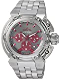 Invicta Men's 'Coalition Forces' Quartz Stainless Steel Casual Watch, Color:Silver-Toned (Model: 22426)