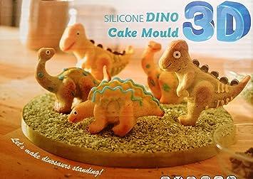 Dinosaurier Kuchenform Silikon 3d Dino F Uuml R