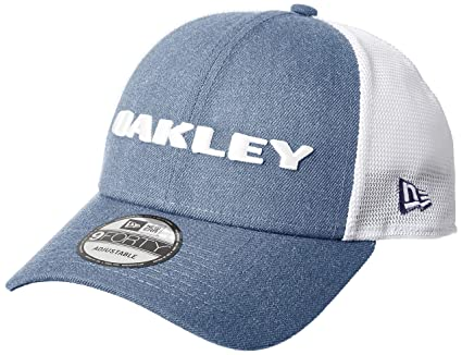 Oakley Gorra Snapback De Visera Curva New Era Heather Ozone (Default, Azul)