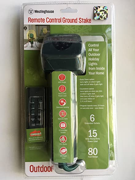 Woods Outdoor Timer Instructions