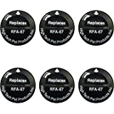 Replacement Battery for Petsafe Model RFA-67 - 6 Pack