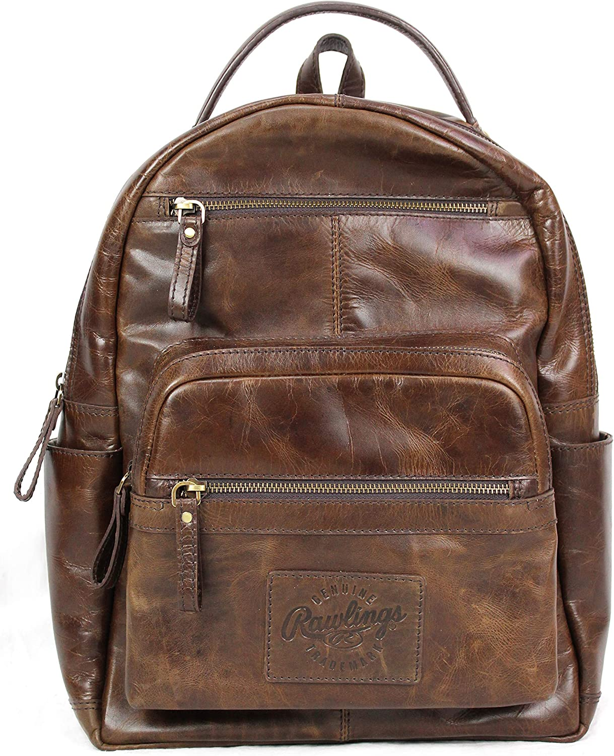 Rawlings Heritage Collection Leather Backpack (Brown, 15