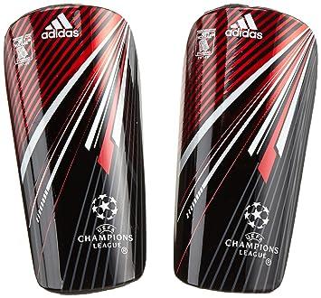 san francisco 672b6 d72b3 adidas Schienbeinschoner United Champions League - Espinilleras de fútbol,  color negro, talla XS  Amazon.es  Deportes y aire libre