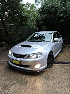 Amazon com: Bumper Lip Fits 2008-2010 Subaru Impreza WRX