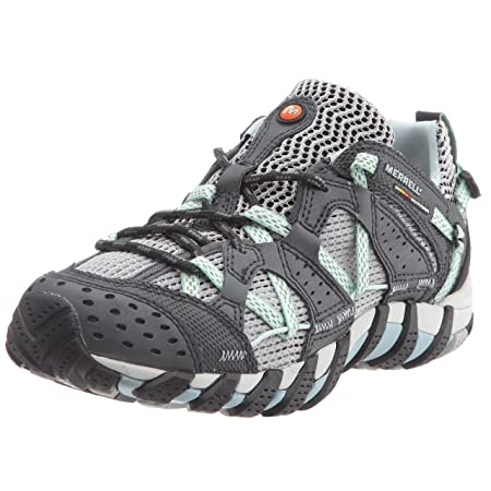 Amazon.com: Merrell Lady Waterpro Maipo Running Shoes - 10 - Green: Sports & Outdoors