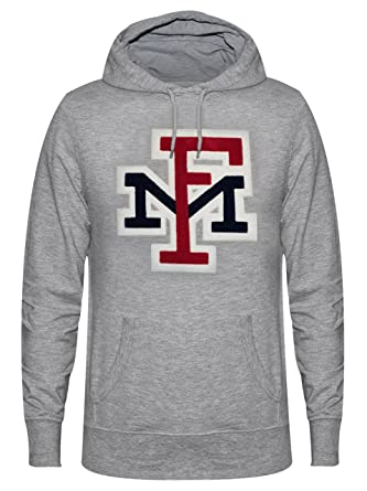 d3708016cf7c38 Franklin and Marshall Logo Hoodie in Light Grey Melange L  Amazon.co.uk   Clothing