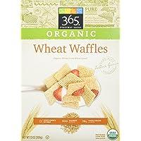 365 Everyday Value Organic Wheat Waffles, 13 oz