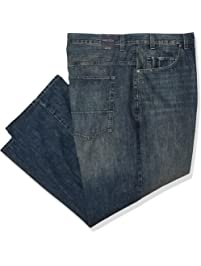 8165b80a Nautica Men's Big and Tall 5 Pocket Relaxed Fit Stretch Jean