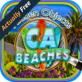 Hidden Objects California Beaches - Summer Beach Vacation & Sunny Cali Coast & Ocean Picture Hunter Games FREE