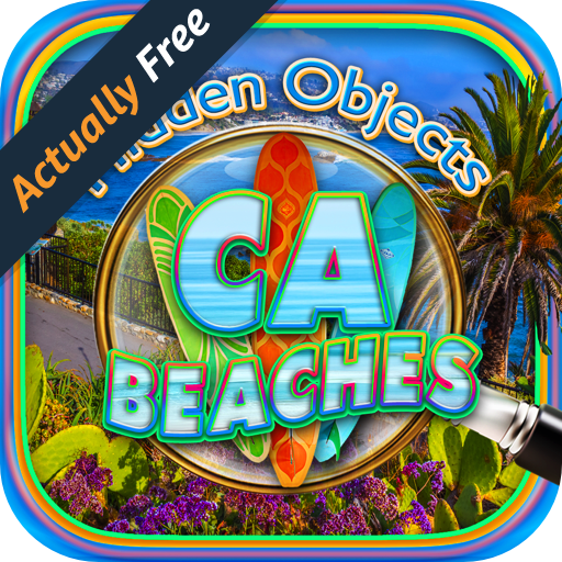 Hidden Objects California Beaches - Summer Beach Vacation & Sunny Cali Coast & Ocean Picture Hunter Games - Sunnies Summer