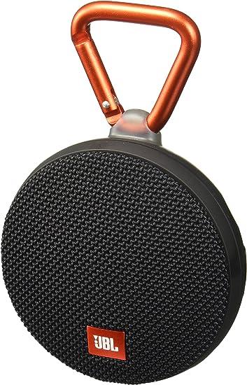Black JBL Clip 2 Black Portable Speaker System JBLCLIP2BLKAM