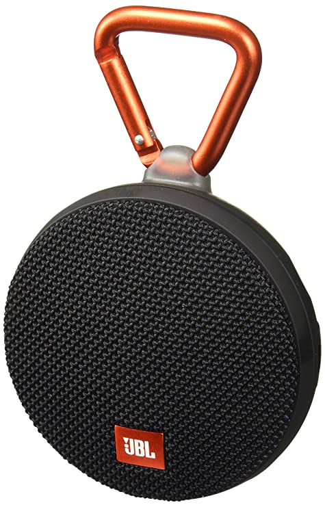 Amazon.com: JBL Clip 2 Waterproof Portable Bluetooth Speaker (Black
