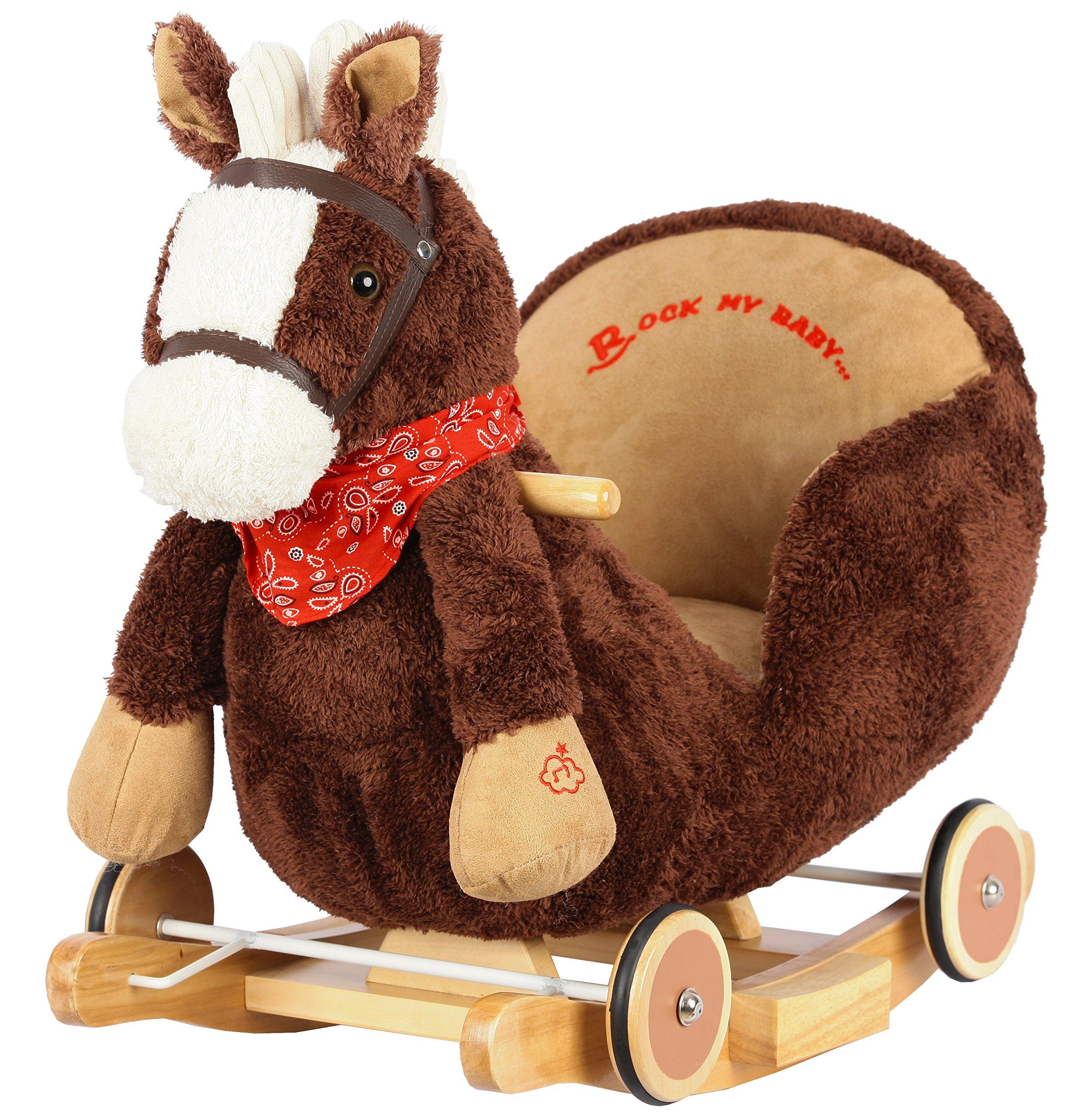 Ryder Rock n Roll Horse Rocker with Wheels
