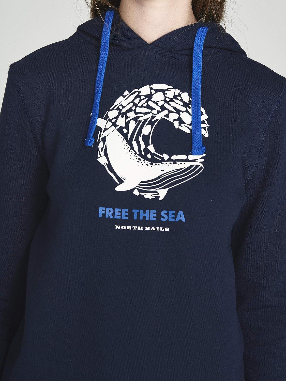 NORTH SAILS Free The Sea Hoodie