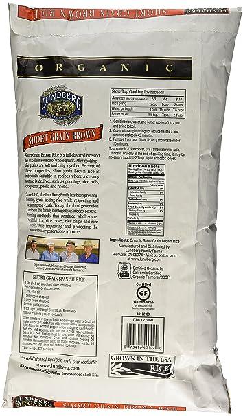 Lundberg granjas USDA orgánico corto café Arroz Sin Gluten ...