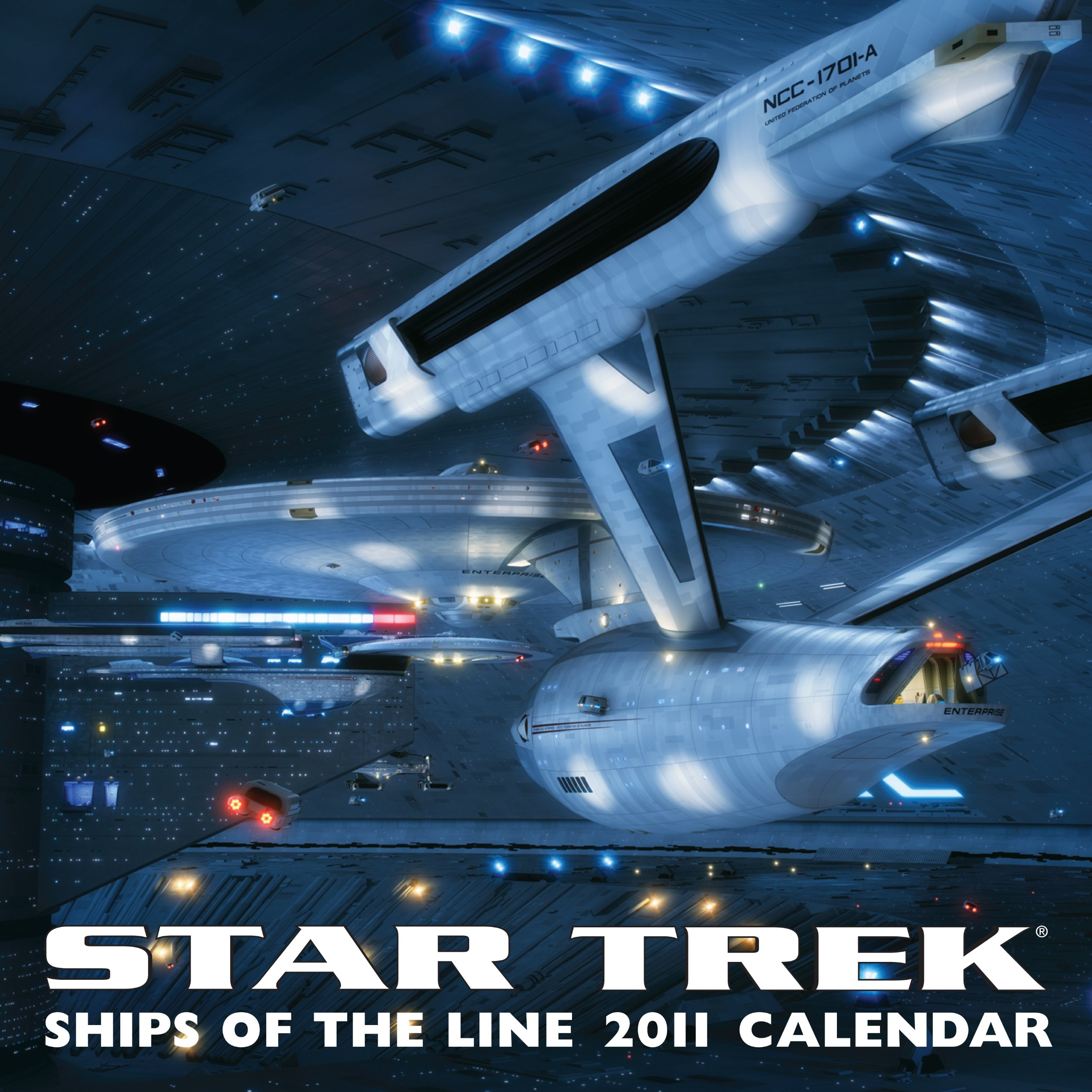 Star Trek: Ships of the Line: 2011 Wall Calendar by Andrews McMeel Publishing