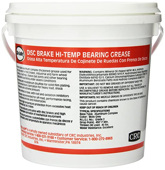Amazon.com: Sta-Lube SL3166 HI-TEMP DISC BRAKE WHEEL BEARING GREASE - 7# PAIL 7. Fluid_Ounces: Automotive