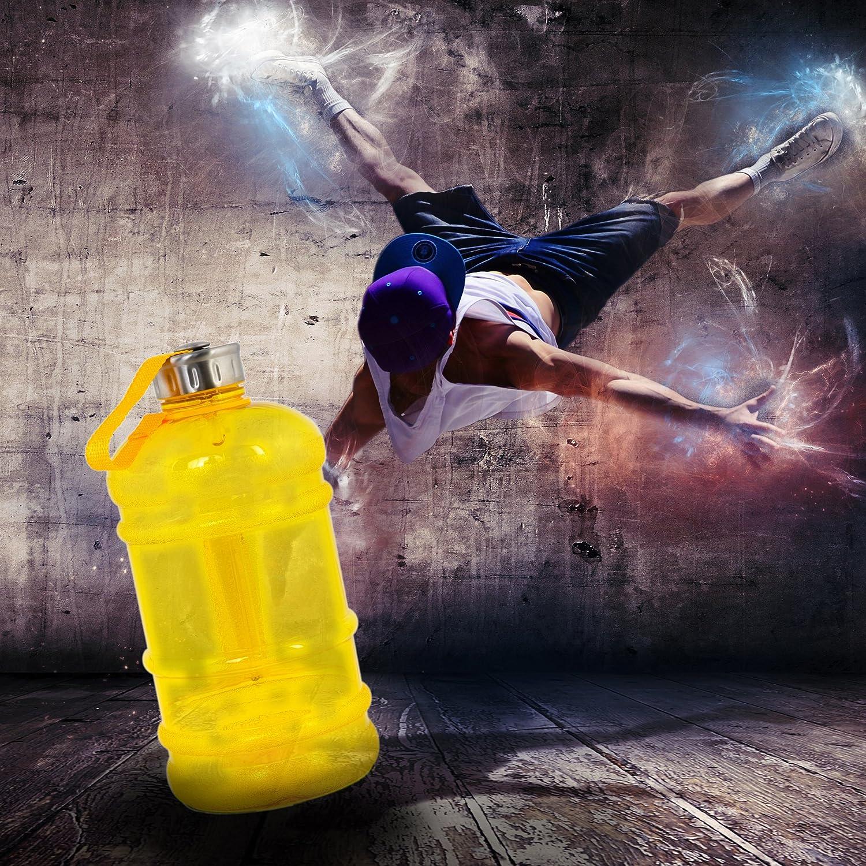 XXL Melianda MA-7400 libre de BPA y ftalatos 001000176 Botella deportiva 2,2/l gris
