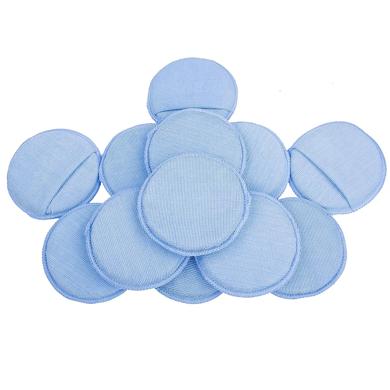 LTWHOME Blue Microfiber Wax Polish Applicator Cleaning Detailing Foam Sponge Pad Finger Pocket Cars (Pack of 12) Ningbo Haishu Huaxin Yicheng Trade Co. Ltd.