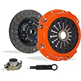 Clutch Kit Set Works With Mitsubishi Eclipse Gt Spyder GTS Convertible Hatchback 2000-2005 3.0L V6 GAS SOHC Naturally Aspirated (6G72 5 Speed Manual Mitsubishi F5M51-1; Stage 1)