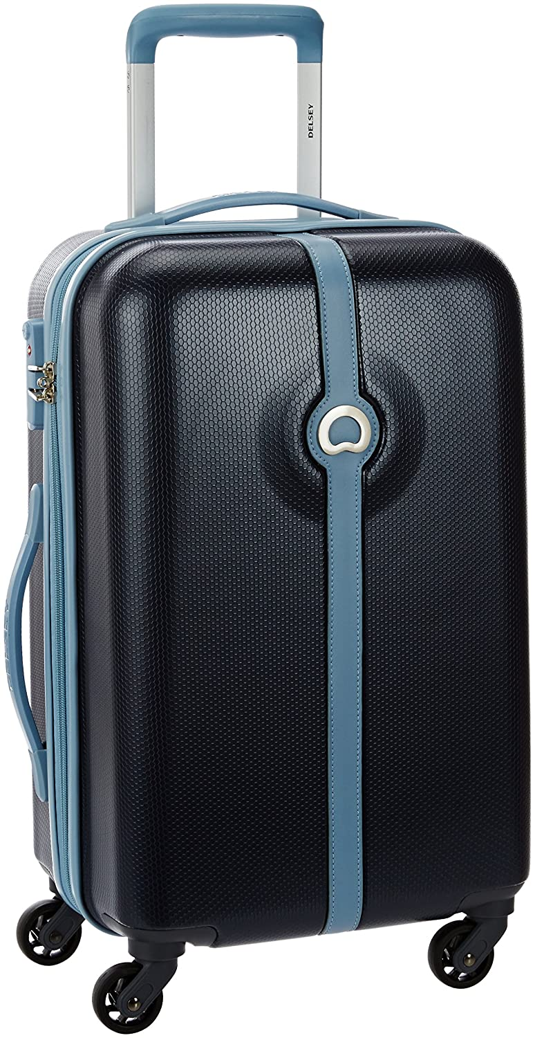 Delsey Clava ABS 55 cms Blue Hardsided Carry On (00344980102)