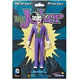 NJ Croce Dc Comics Joker Personaggio Snodabile, Classic, Colore Multi-Colour, 5.5-inch DC3905