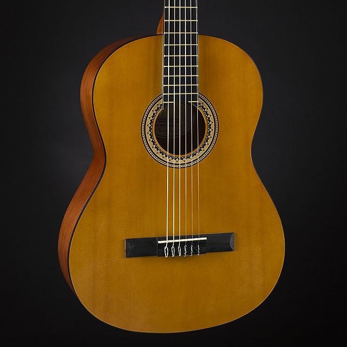 Sunburst Finish Valencia VC264CSB 4//4 Classical Guitar