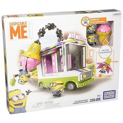 Mega Bloks Despicable Me Ice Scream Truck: Toys & Games