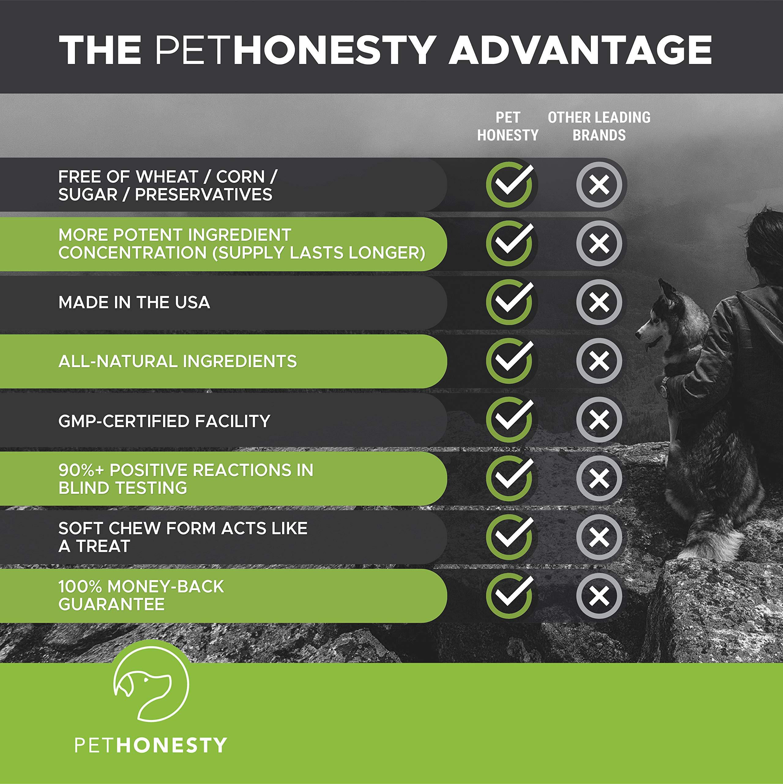 PetHonesty GrassGreen Grass Burn Spot Chews for Dogs - Dog Pee Lawn Spot Saver Treatment Caused by Dog Urine - Cranberry, Apple Cider Vinegar, DL-Methionine Grass Treatment Rocks - 90 Chew Treats by PetHonesty (Image #7)
