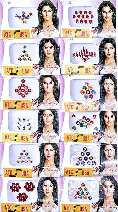 Amazon.com: 15 Bindi Packs - Bindi Packets- Lot of Bindi Packs ...