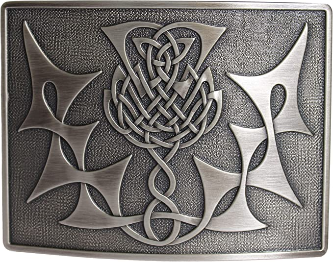 Glen Esk Highland Thistle para falda escocesa Celtic hebilla de ...