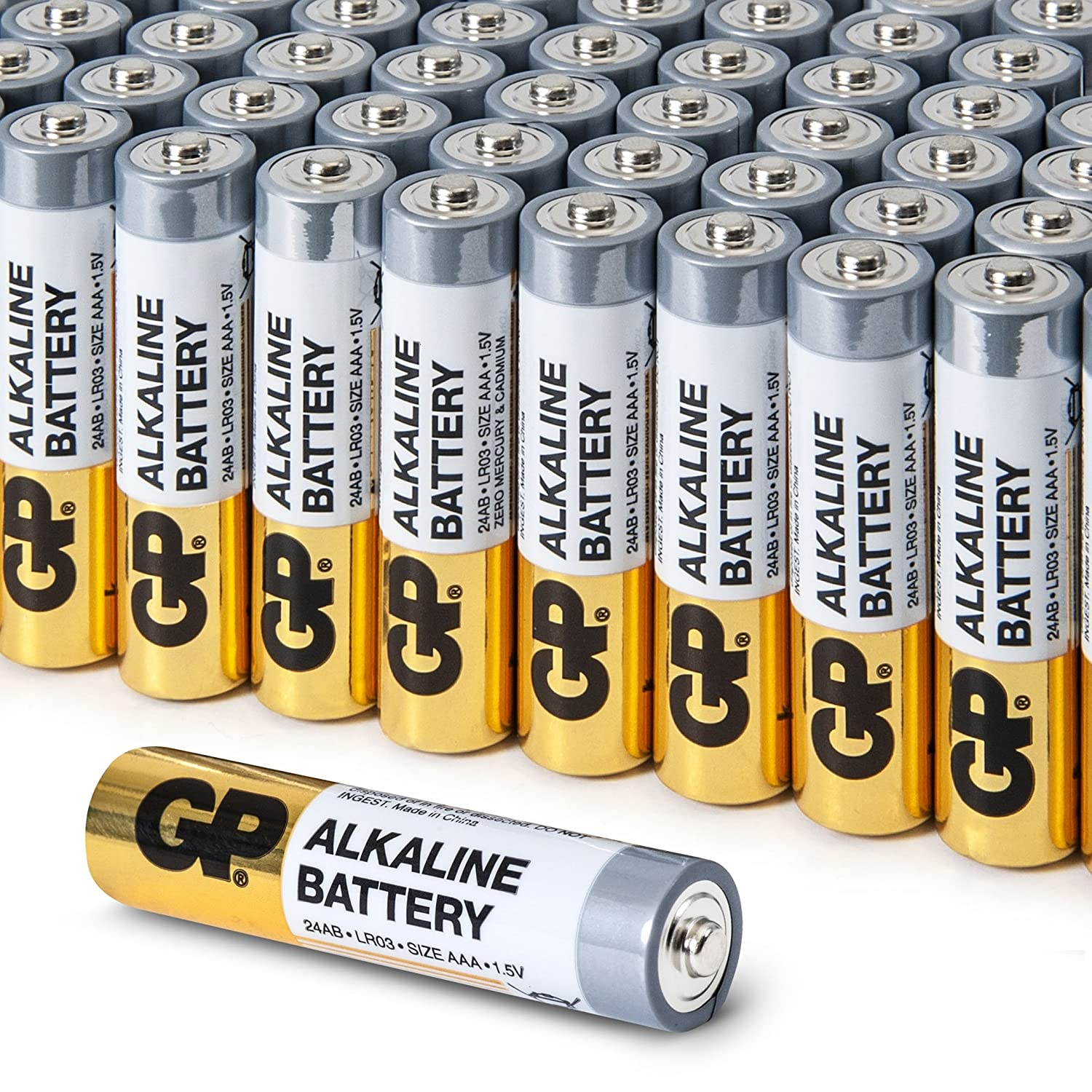 e6cce42bd0c40 AAA Battery Value Pack by GP | High-Performance 1.5V: Amazon.co.uk:  Electronics