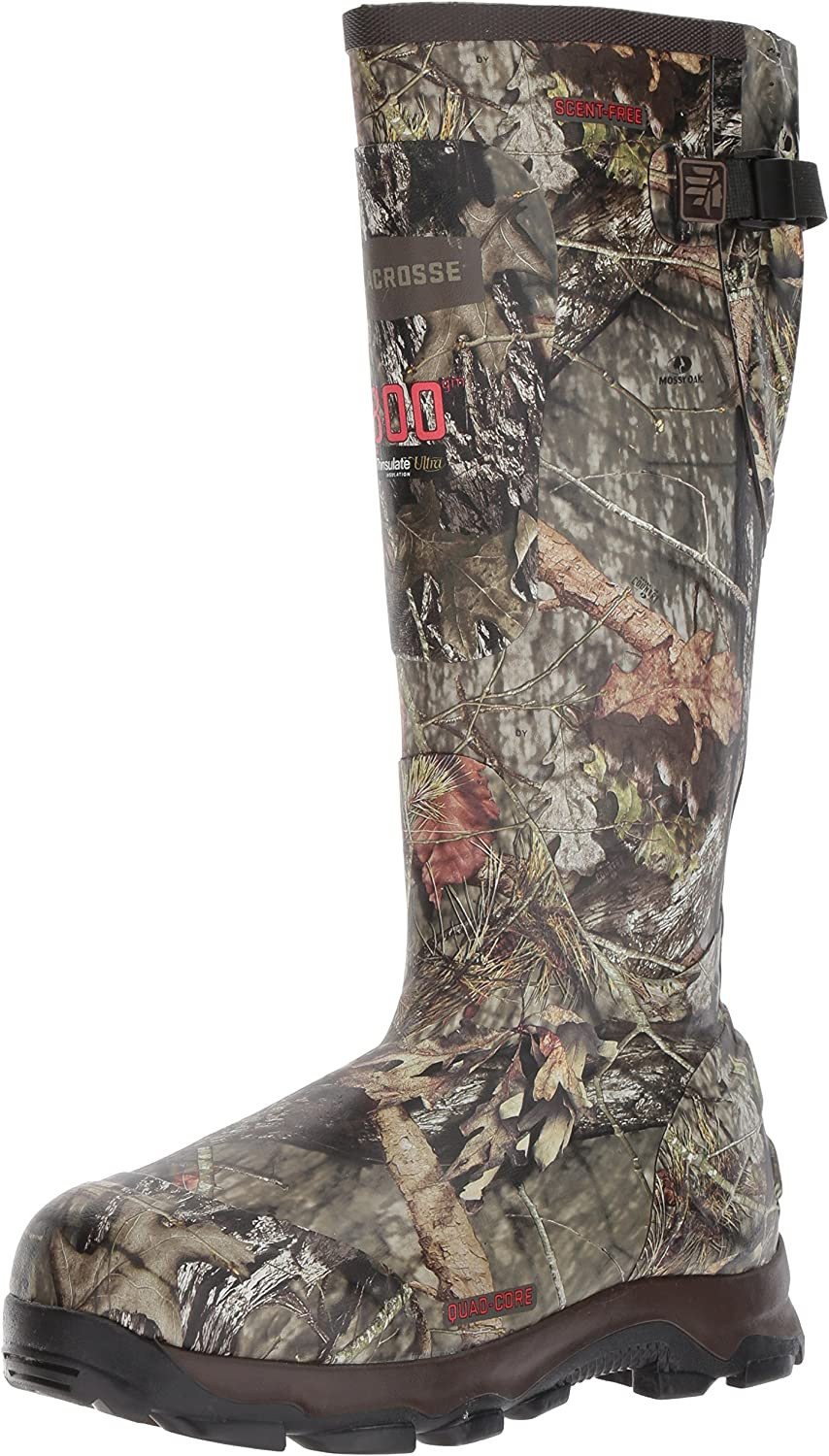 """Lacrosse Men's 4xBurly 18"""" 800G Hunting Shoes"""