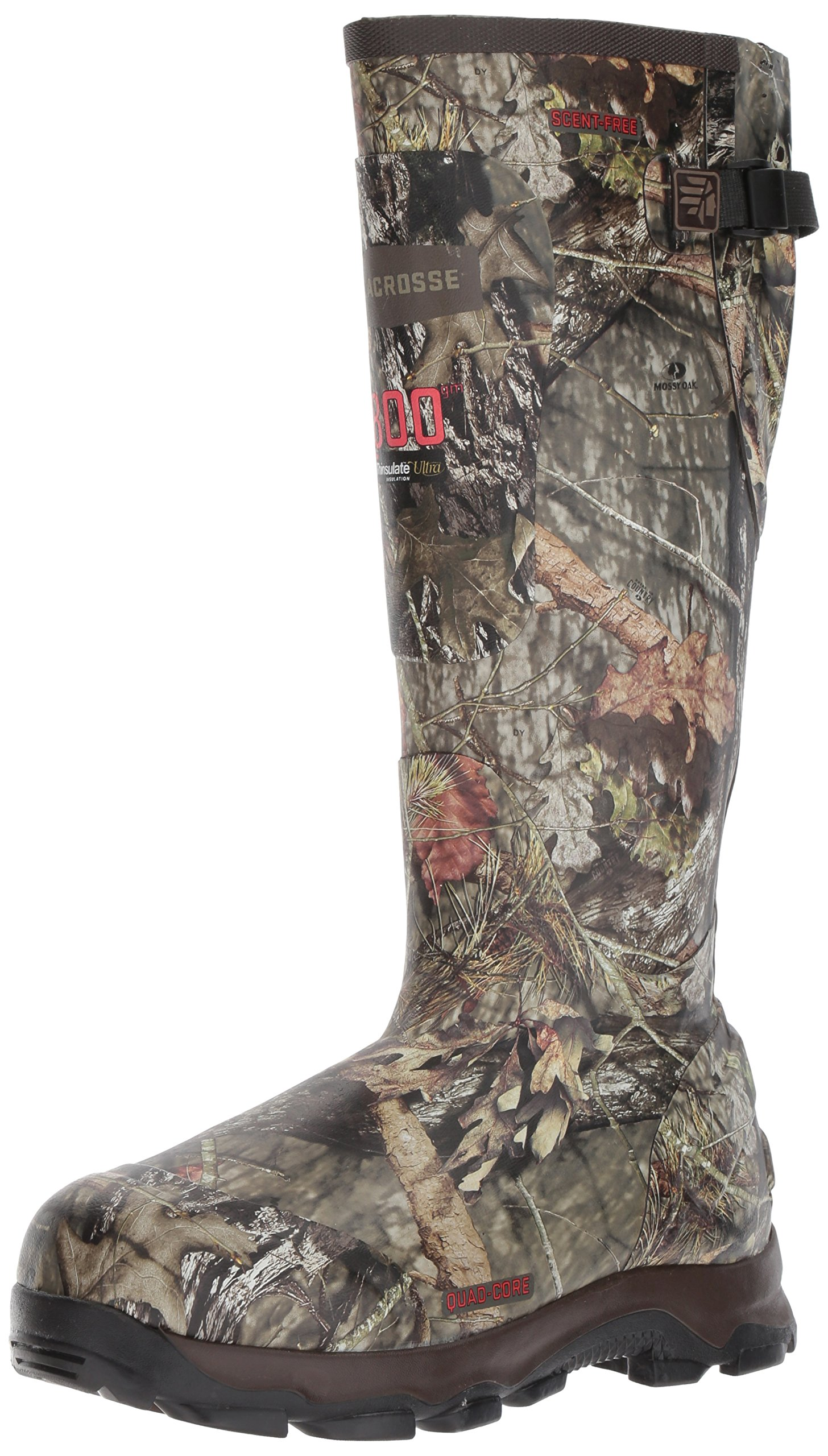Lacrosse Men's 4xBurly 18'' 800G Hunting Shoes, Mossy Oak Break Up Country, 6 D US