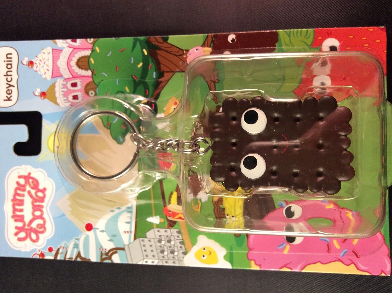 Kidrobot Yummy World 3D Vinyl Keychain (Blue Frosted Cookie)