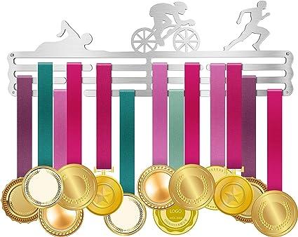 Medal Hanger Trophies Prize Wall Holder Metal Rack Sport  Race Running Swimming