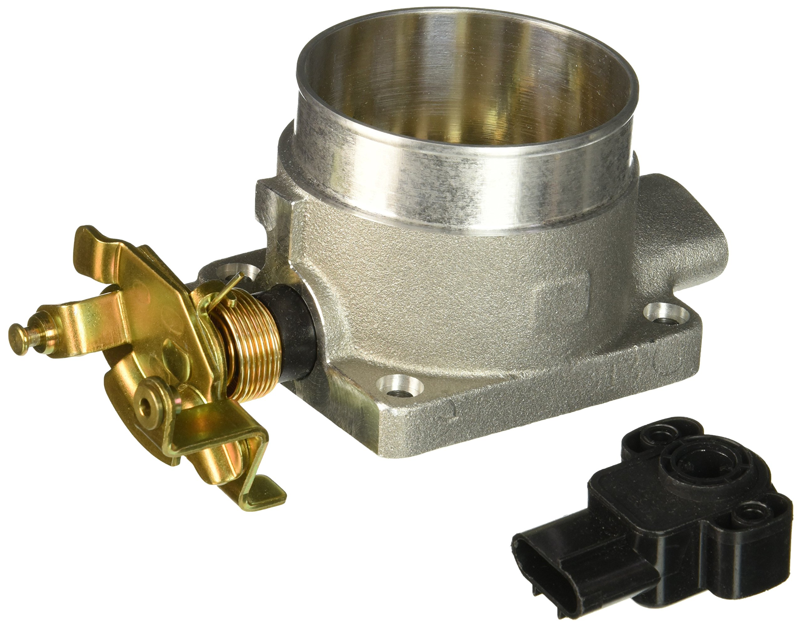 BBK 1703 75mm Throttle Body - High Flow Power Plus Series for Ford 4.6L-2V/4.6/5.4L F150/Expedition by BBK Performance