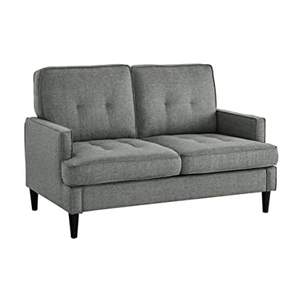 Attirant Dorel Living Marley Loveseat, Gray