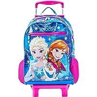 Mala Escolar G com Rodinhas Disney Frozen, 41 x 30 x 14, Dermiwil 51966, Multicor
