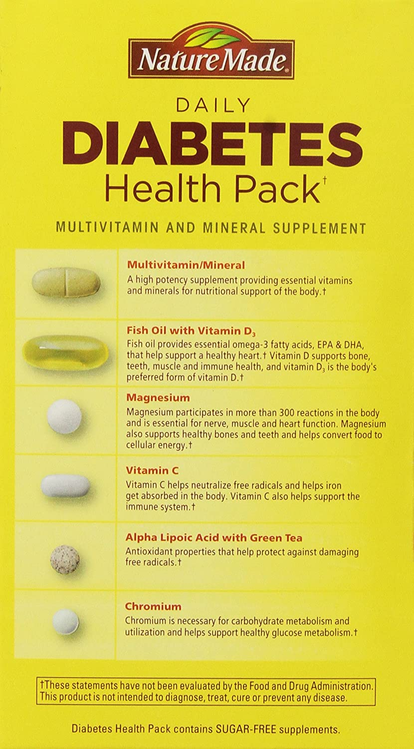 how to vitamins for diabetes