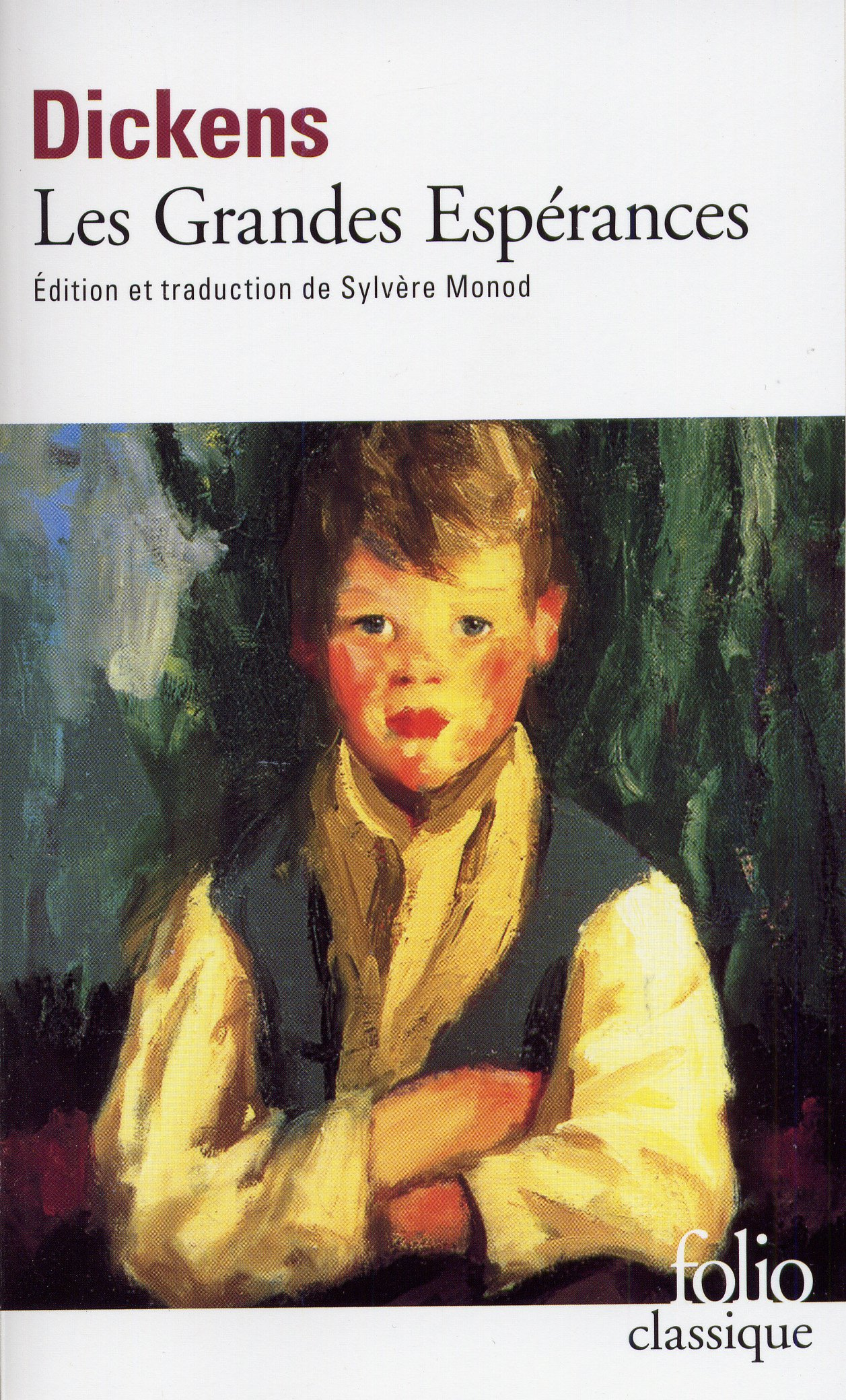 Les grandes espérances (Anglais) Poche – 26 mai 1999 Charles Dickens Sylvère Monod Gallimard 2070388301