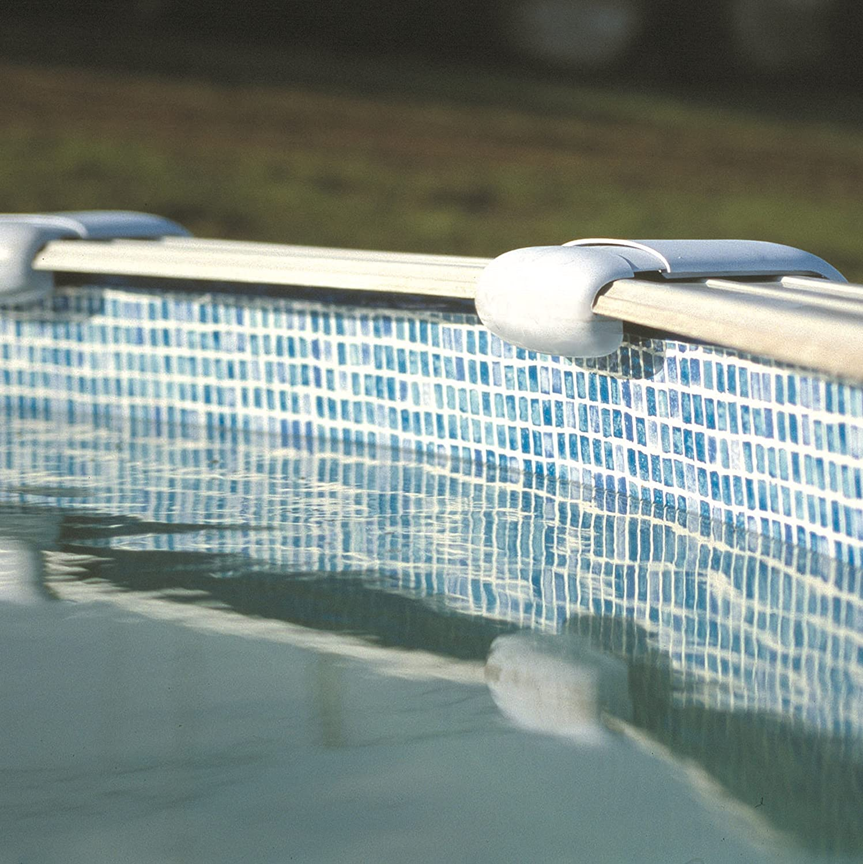 Largo x Ancho x Alto Color Gresite Gre FPROV617 Liner para Piscinas Ovaladas 610 x 375 x 132 cm
