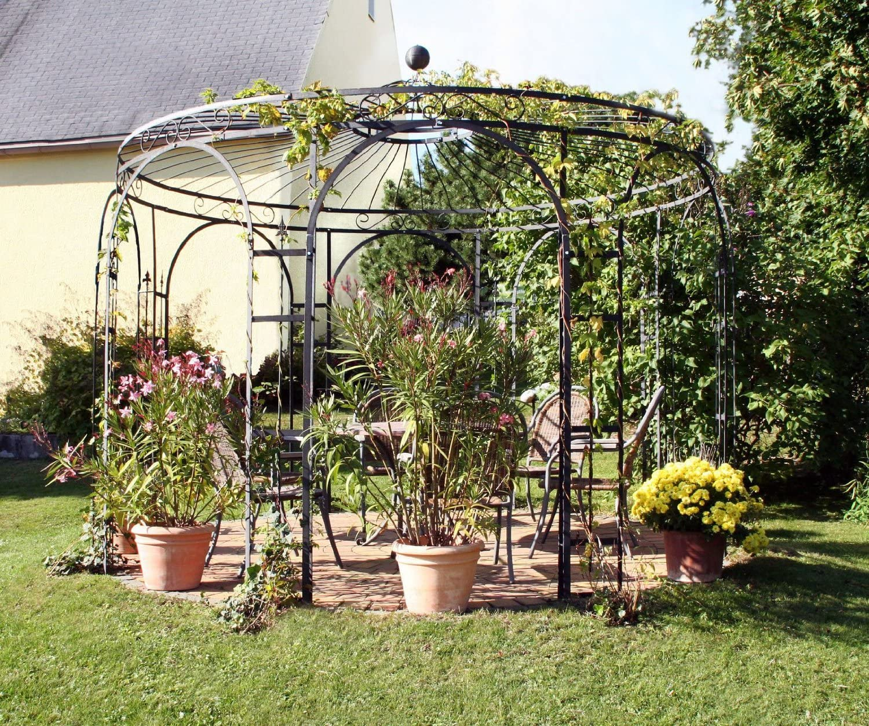 Glorieta para jardín, glorieta de metal, mirador, glorieta de ...